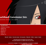 uchihaxD Skin Commission by pixiepot