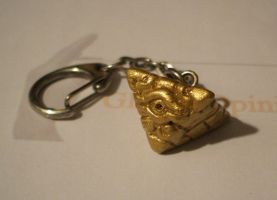 Millennium Puzzle Keychain by Red-Flare