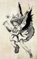 Touhou PC - Okuu Brush by yo-chaosangel