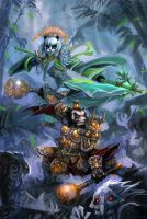 warcraft of Pandaria by breathing2004