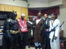 Me And Some friends for Halloween Me as the Batman by Tazuya
