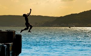 Jumping Freedom by Gil-Levy