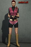 Claire Redfield - Poser Pro by grenadeh