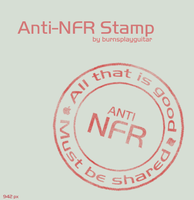 Anti-NFR Stamp by burnsplayguitar
