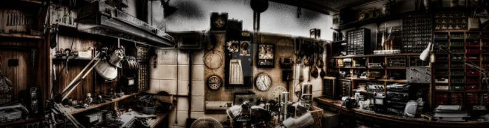 Cluttered Panorama by TwilitLens