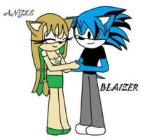 Angel x Blazier by AngelTheHedgehog145