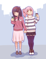 Madohomu Fall Sweaters by Caffeccino