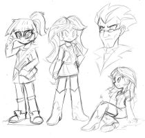 Just some sketches by DANMAKUMAN