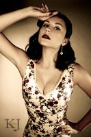 50's Pinup Cristina by KittyParrish