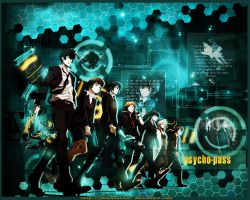 Psycho-Pass Wallpaper by JunSoulsilver