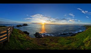 Phillip Island Sunset Walk by WiDoWm4k3r