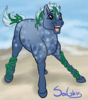 Seaglass by DragonsFlameMagic