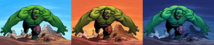 Hulk Ambientation Exercises by eggoverlord