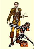 Steampunk SkyPirate Character2 by SomewhatSavvy