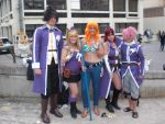 Fairy Tail y Nami One Piece - Salon Barcelona 2014 by Timagirl