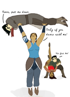 Makorra Week 2012: Genderbending by halfatheory357