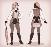 Neo Alternate Outfit by mirzers