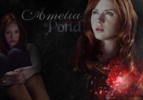 Amelia Pond by BellatrixStar88