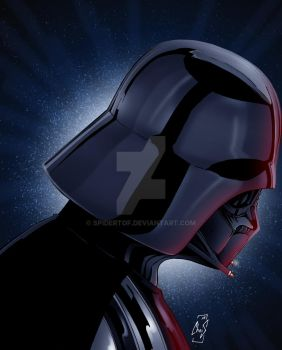 Lord Vader by Spidertof
