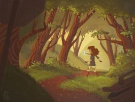 Into the Woods by AlyssaTallent