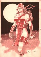 The Lady In Red by wardogs101