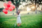 Red Ballons 2 by psychotic-cheshire