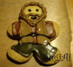 Hagrid Cookie by SugiAi