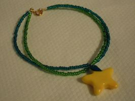 Papou fruit anklet by Thyme-Sprite