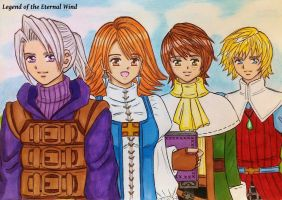 FFIII: Legend of The Eternal Wind by dagga19