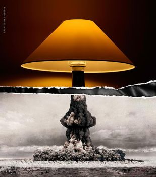Lamp vs Nuclear Bomb? by GLoRin26