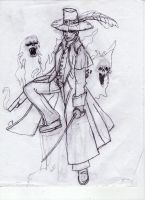 Lucius Dajes- Sketch by Allocer2009
