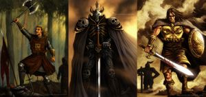 The 3 Warriors by aaronwty