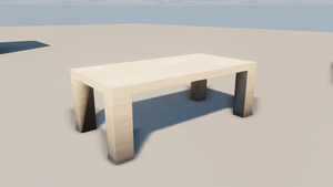 Table in UDK by MarsAssassin