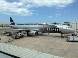 Spirit Airlines by Asenath-Nightroad