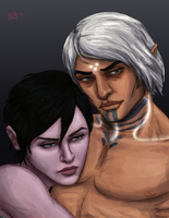 Hawke and the Mysterious Elf by Kittanee