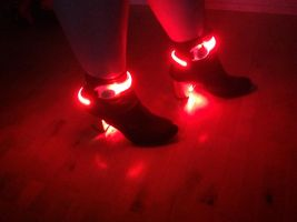 My Daft Punk shoes by Daft-punk-girl2