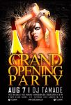 Free Grand Opening Party Flyer Template Vol.2 by AwesomeFlyer