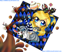.::~Alcia's Adventures in wonderland~::. by cukikiuc123