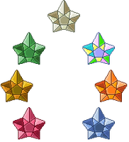 Crystal Stars Icon Pack by Xagic