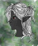 Drow Girl Portrait by Drow-Lover