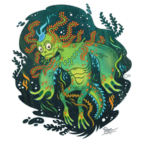 Swamp Monster by StoicSquid