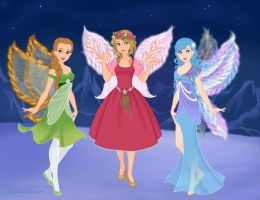 Fairy Costumes by M-Mannering