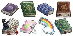 Items - Books by Alkaline00