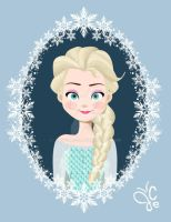 Disney Frozen Queen Elsa by joeyellson
