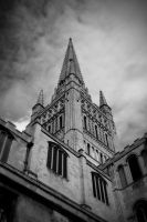 Norwich Cathedral by IrisKnight