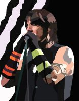 Anthony Kiedis Vector by felipecarbus