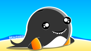 Whale Wallpaper by BlissfullySextastic