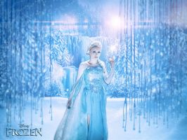 Elsa - Frozen - Cosplay by darknetcs