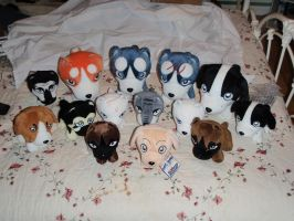 Ginga Plush Collection by ShinyToyDinosaurs