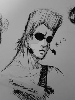 Polnareff is a babe by pizza-tron-2010
